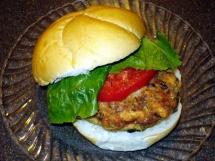 Fishburger di salmone